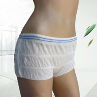 5PCs Disposable Pants Postpartum Underwear Patient Incontinence Pads Soft Briefs