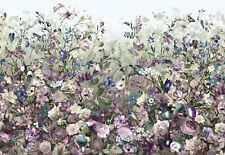 NON WOVEN giant wallpaper 368x248cm Flowers Botanica Wall Mural for bedroom
