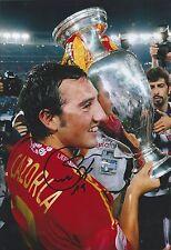 Santi Cazorla-Firmato a Mano 12x8 foto-Arsenal Serventi SPAGNA-CALCIO