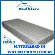 MATERASSO MODELLO WATER FOAM H20 120X200CM ANALLERGICO ORTOPEDICO MADE IN ITALY