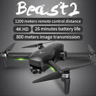 2020 SG906 Pro 2 1.2KM FPV 3-axis Gimbal 4K Camera Wifi GPS RC Drone Quadcopter