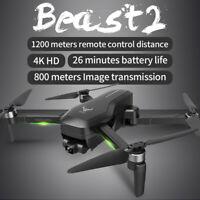 SG906 Pro 2 1.2KM FPV 3-axis Gimbal 4K Camera Wifi GPS RC Drone Quadcopter AB