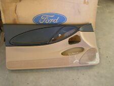 NOS OEM Ford 1994 1998 Mustang Door Panel 1995 1996 1997 GT V6 Saddle + Black LP