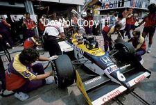 Nelson Piquet Williams FW11B ganador alemán Grand Prix 1987 fotografía 1