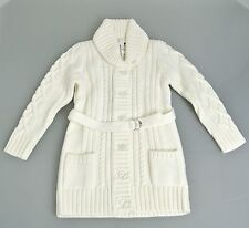 New Authentic Gucci Kids Wool Sweater Cardigan, White, 4, 270719