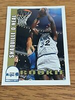 1992-1993 Skybox NBA HOOPS SHAQUILLE O'NEAL ROOKIE RC CARD #442 SHAQ