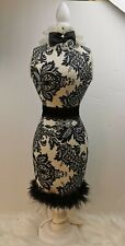 Sophisticated and Stylish Mannequin Sequin Dress Form On Stand Decoration