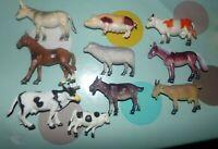 LOT 10 ANIMAUX ANCIENS  DE LA FERME
