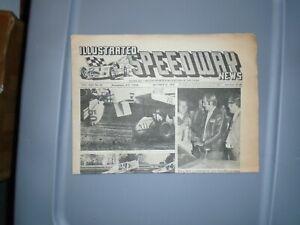 Illustrated Speedway News October 31 1972