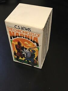 The Chronicles Of Narnia Complete Box Set 1-7 By C.S. Lewis 1970(Good Condition)