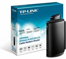 TP-Link N300 300Mbps Wireless N DOCSIS 3.0 Cable Modem Router for Comcast Time