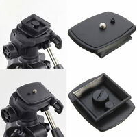 Quick Release Plate Screw Adapter Mount Head For DSLR SLR Digital Camera New UK