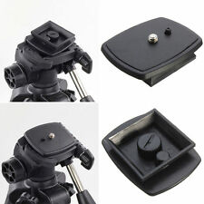 Tripod Quick Release Plate Screw Adapter Mount Head For DSLR SLR Digital Came Lo