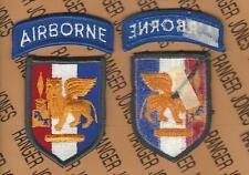 US Army Southern European Task Force SETAF Airborne Dress uniform patch m/e