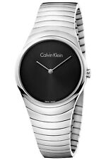 Calvin Klein WHIRL Orologio donna Swiss made K8A23141 LADIES watch MESH MAGLIA