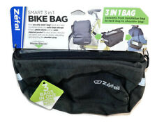 Nwt Zefal Black & Gray Smart 3 in 1 Bike Bag