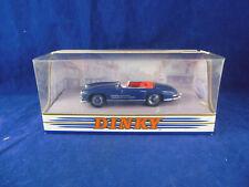 Dinky DY033/A 1962 Mercedes Benz 300SL Roadster in Dark Blue 1:43 Scale