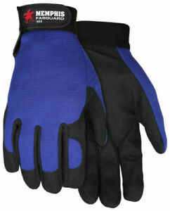 MCR Safety 900 Fasguard Clarino Synthetic Leather Palm Multi-Task Gloves