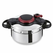 Tefal Clipso Minut Easy Pressure Cooker, Stainless Steel, 6 Litre