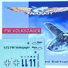 FW  VOLKSJAGER  -  1/72 scale - DECALS