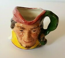"Vintage ""Will Scarlett"" Toby / Character Jug by Cooper Clayton - 6.5 cm tall"