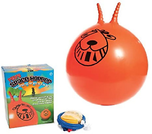 LARGE EXERCISE RETRO SPACE HOPPER PLAY BALL TOY KIDS ADULT GAME 60CM