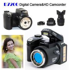 33MP Polo D7200 Fotocamera Digitale HD Videocamera W/20x Teleobiettivo Led