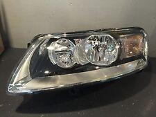 NEW OEM AUDI A6 & S6 DRIVER LEFT SIDE HEADLIGHT HEADLAMP w/O XENON OPTION
