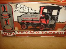 ERTL 1910 TEXACO #12 series 1910 MACK TANKER TRUCK BANK-NEW IN BOX