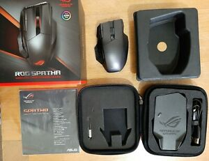 Asus RoG Spatha Wireless/Wired Gaming Mouse - Secondary
