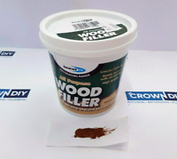 MULTI PURPOSE WOOD FILLER READY MIXED DARK OAK 250ml WINDOW DOOR FRAMES TIMBER