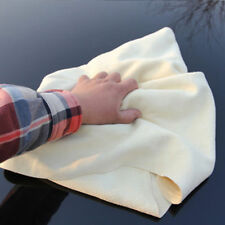 Natural Chamois Leather Car Cleaning Cloth Washing Absorbent Drying Towel Pop #