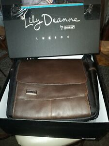 Think Tank Photo Lily Deanne Mezzo Premium Camera Bag Chestnut Leather With Box