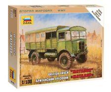 Camión británico matador 1/100 Kit Modelo Militar-Zvezda 6175