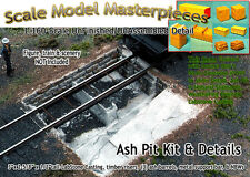 Ash Pit & Details Kit for Enginehouse/Roundhouse Scale Model Masterpieces Nn NEW