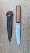 RARE Vintage STA-SHARP by Camillus Carbon Steel Hunting or Boot Knife Dagger WOW