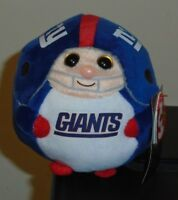 3580df94209 Ty Beanie Baby Ballz ~ NEW YORK GIANTS (5 Inch Size) NFL Football NEW