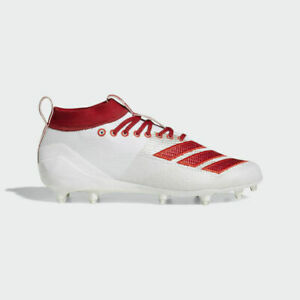 Adidas Adizero New 8.0 Football Cleats Red EE9955 Mens Size 10.5