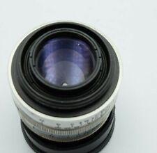 Lens  Zeiss Biotar 2/5,8cm Red T  Chrom  No.3543716 for TM42