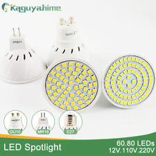 Kaguyahime 1pc/10pcs MR16 GU10 E27 LED Spotlight LED Lamp 3W 4W 5W DC 12V AC