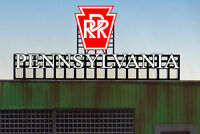Pennsylvania RR Animated Billboard Sign #4281 HO/O Scale Miller Engineering New!