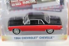 CHEVROLET CHEVELLE 1964 ZINE MACHINES SER 1 1:64 GREENLIGHT 21730 NEW RED MODEL