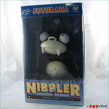 "Futurama 8"" Vinyl Nibbler with box by Moore Collectibles release year 2000 -worn"