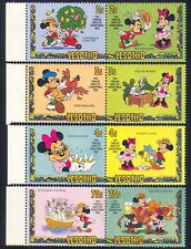 Lesotho 1982 Disney/12 Days Xmas/Birds 8v set (b1300)