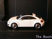 VW VOLKSWAGEN NEW BEETLE II 2011 ORYX WHITE SCHUCO 5C10993000K1 1/43 WEISS BLANC