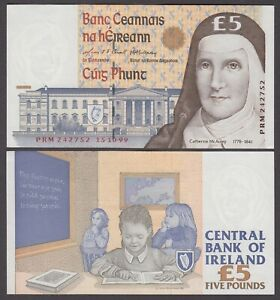 IRELAND  P.75  5 POUNDS 15.20.99 PFX PRM  EXTREMELY FINE  LOW SHIPPING