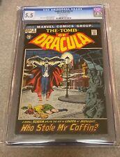 Tomb of Dracula 2 CGC 5.5