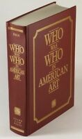 "Book: Good American Artists Biographical Dictionary 1898-1947 -  ""Who Was Who"""