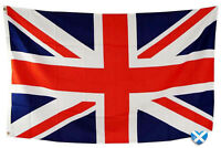 Union Jack Giant Large Flag 9 feet x 6 feet Great Britain British Queen MEGA NEW