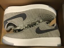 New Nike AF1 Air Force 1 Flyknit Low Shoes 820256-010 Womens sz 7 pale grey